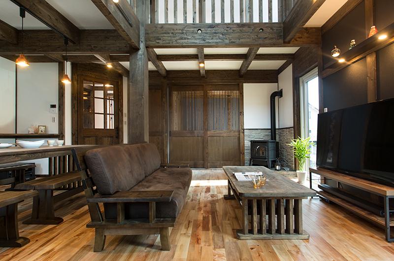 木の温もりにあふれた木の家 ≪サイエンスホーム札幌北≫